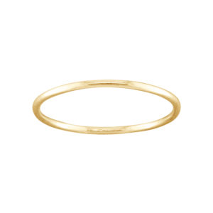 Thin – Toe Ring – Gold Filled