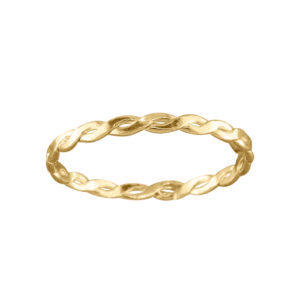 Braid – Thumb Ring – Gold Filled
