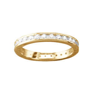 Dazzler – Thumb Ring – Gold Vermeil