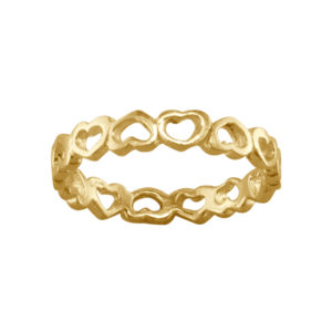 Sweetheart – Thumb Ring – Gold Vermeil