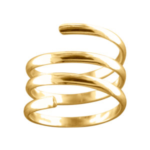 Coil – Toe Ring – Gold Filled