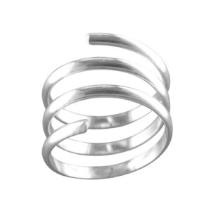 Coil – Thumb Ring – Sterling Silver