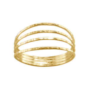 Four in One – Thumb Ring – Gold Filled