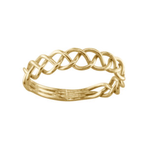 Free Form – Toe Ring – Gold Filled