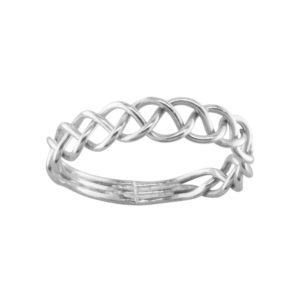 Free Form – Toe Ring – Sterling Silver