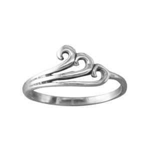 The Wave – Toe Ring – Sterling Silver
