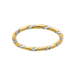 The Rope – Toe Ring – Gold Filled/Mixed Metal