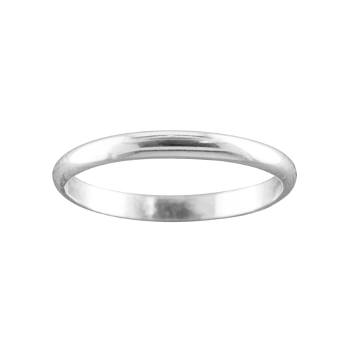 2mm Sterling Silver Classic