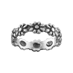 Daisies – Toe Ring – Sterling Silver