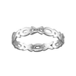 XOXO – Toe Ring – Sterling Silver