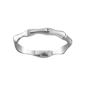 Bamboo – Toe Ring – Sterling Silver
