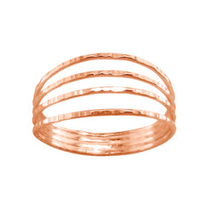 Four in One – Thumb Ring – Rose Gold Filled