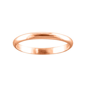 Classic 2mm – Thumb Ring – Rose Gold Filled