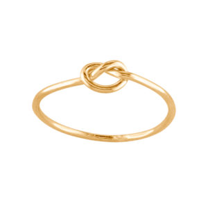 Knot – Thumb Ring – Gold Filled