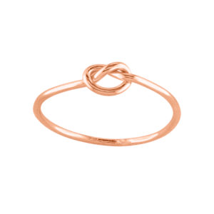 Knot – Thumb Ring – Rose Gold Filled