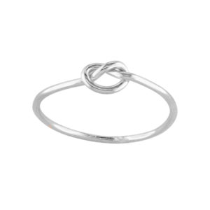 Knot – Toe Ring – Sterling Silver