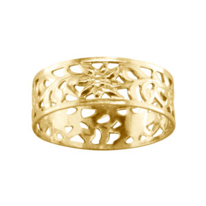 Wildflowers – Toe Ring – Gold Filled